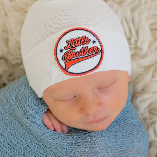 ilybean All American All Star Little Brother Sports Newborn Boy Hospital Hat