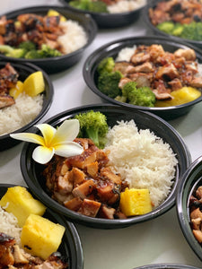 Hawaiian Pineapple Chicken Bowl