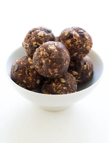 Peanut Butter Cup Energy Bites