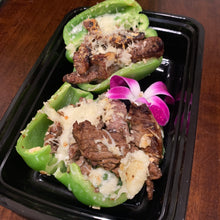 Load image into Gallery viewer, Philly Cheesesteak Stuffed Peppers