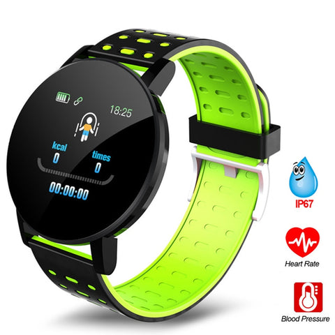 119plus Bluetooth Sports Smart Bracelet Men's and Women's Watch Smart Bracelet Fitness Tracker Stress Sports Watch Heart Rate Mo