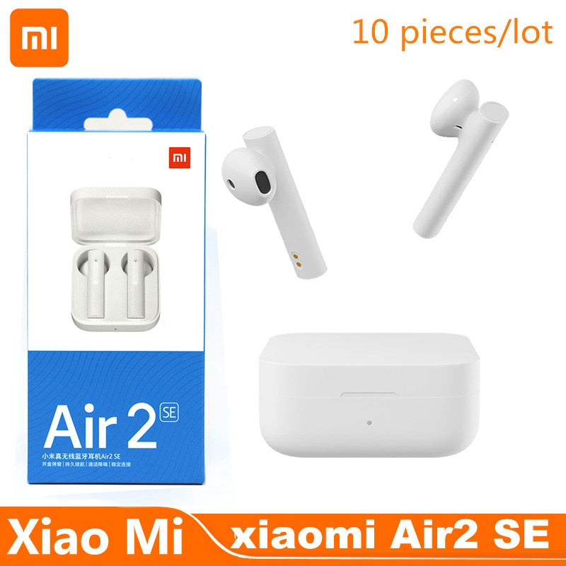 10 pieces/lot Original Xiaomi Air 2 SE TWS Sport Wireless Bluetooth Earphone Air 2 SE Bass Earbuds AirDots pro 2 SE 20