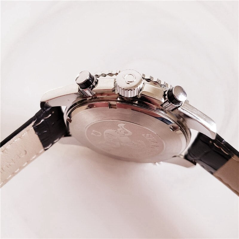 Omega-high-end ceramic bezel men's and women's simple automatic movement 007 watch designer watch watch 1922