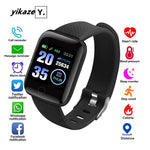 116 Smart Watch Heart Rate Fitness Tracker Watches Men Women Blood Pressure Monitor Waterproof Sport Smartwatch For Android IOS