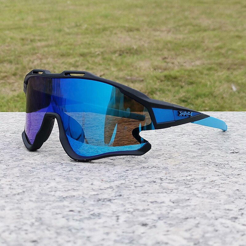 New style Kapvoe Sports Cycling Glasses photochromic Mountain Cycling Sunglasses men Sports bicycle Glasses oculos ciclismo