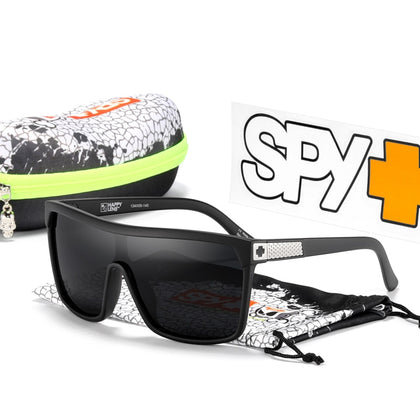 FLYNN Polarized Sunglasses Men One Piece Outdoor Sports Sun Glasses With Original Box Adventure Shades