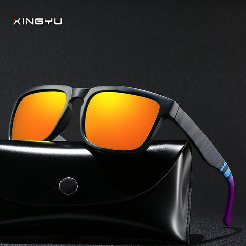 Polarized Sunglasses KEN BLOCK Men Brand Designer Sun glasses Reflective Coating Square Spied For Women Rectangle Eyewear gafas