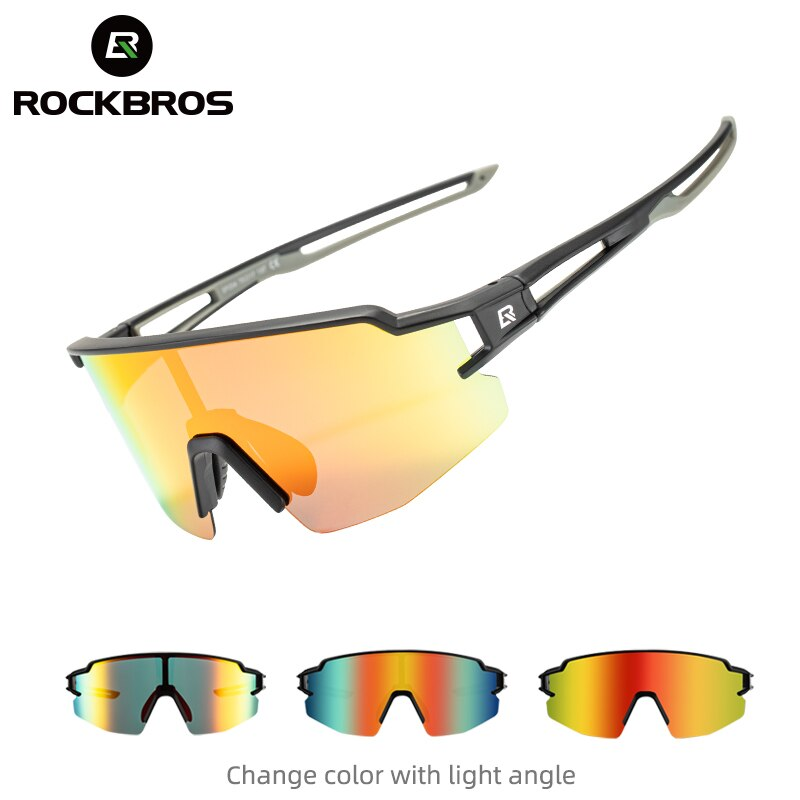 ROCKBROS Cycling Sport Polarized Glasses for Men Women Lightweight UV400 Running Fishing Photochromic Outdoor Sunglasses Goggles