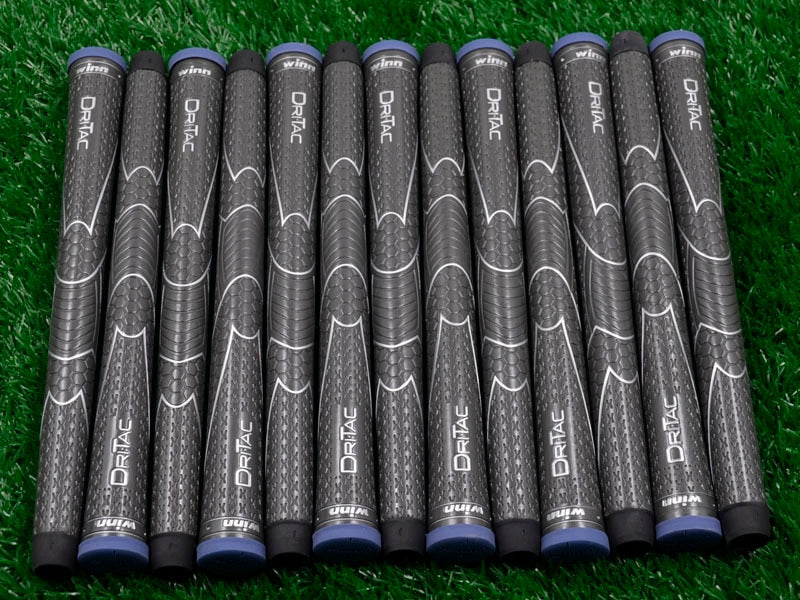 10 WINN DRITAC AVS MIDSIZE GRAY  GOLF GRIP. 5DT-BRD Free shipping (Gray)