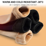 Thicken Socks Winter Women Thermal Wool Cashmere Seamless Snow Socks Velvet Boots Warm Ground Camping Hiking Running Skiing Sock