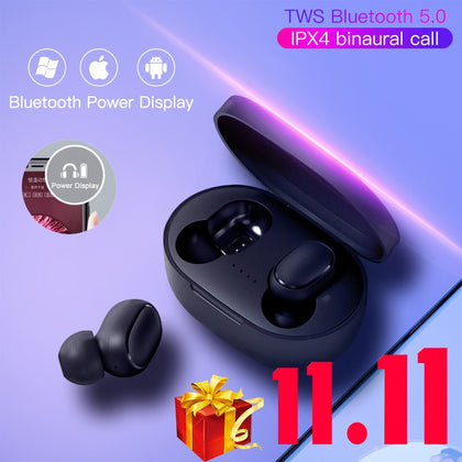 Bluetooth Earphones 5.0 Wireless Headphones Air Dots TWS in-Ear Earbuds Waterproof Mini Headset 3D Stereo Sound Sport Earpiece