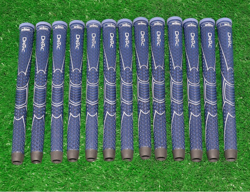 10 WINN DRITAC AVS MIDSIZE DARK BLUE GOLF GRIP. 5DT-BRD Free shipping