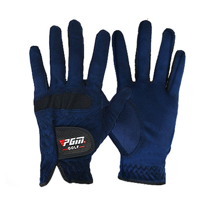 Men Right Left Hand Golf Gloves Sweat Absorbent Microfiber Cloth Soft Breathable Abrasion Gloves New Arrival