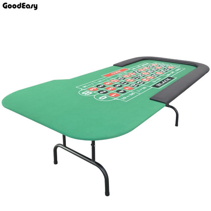 -Roulette Table Casino Foldable Table Texas Hold'em Poker Indoor Board Game Chip Accessory Factory Price