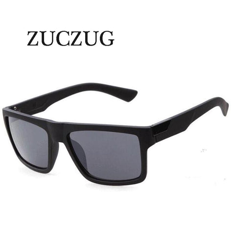 ZUCZUG Retro Square Sunglasses Men Women Brand Designer Reflective Coating Sun Glasses Goggle Square Spied SunGlasses Male UV400