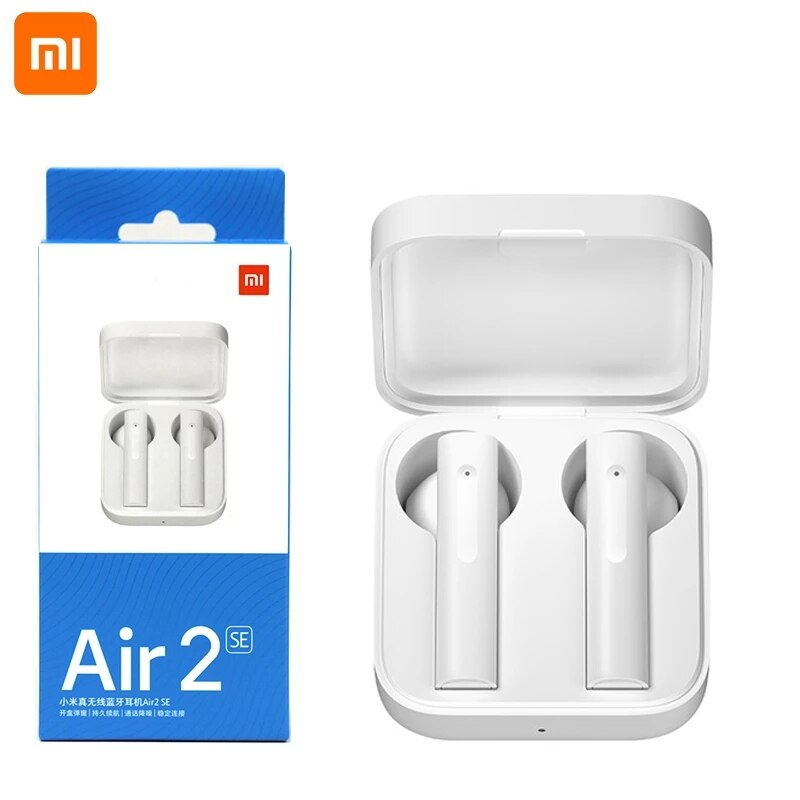 10 pieces/lot Original Xiaomi Air 2 SE TWS Sport Wireless Bluetooth Earphone Air 2 SE Bass Earbuds AirDots pro 2 SE 20 (10pcs Air 2se)