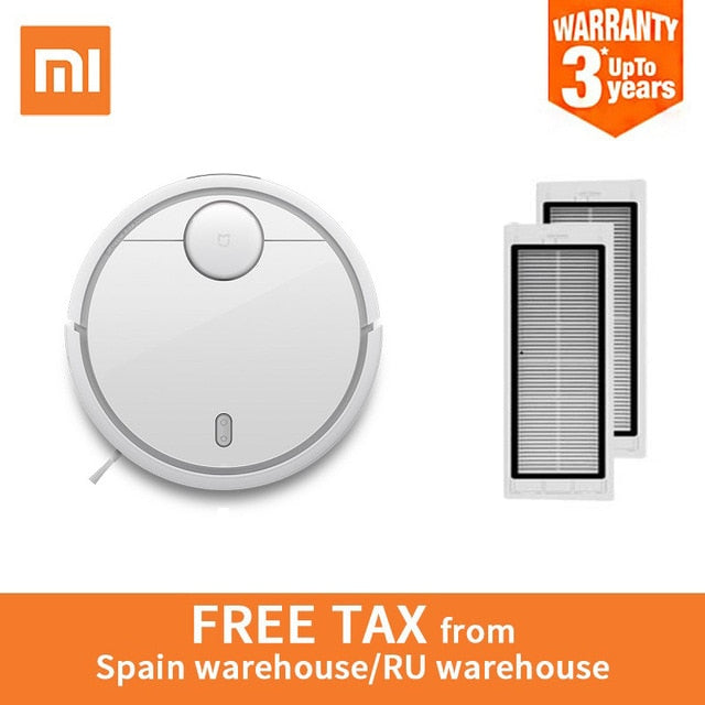 Original XIAOMI Global Version MI Robot Vacuum Cleaner MI Robotic Smart Planned Type App Control Auto Charge LDS Scan Sweeping