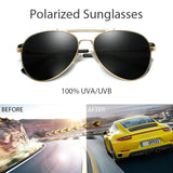 BAVIRON 2019 Tear Drop Sunglasses Polarized Men uv Protection Women Pilot Male Sunglasses Drive Sun Glasses Man Eyewear Gafas