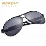 AORON Mens Glasses Polarized Sunglasses Male 2018 Driver's HD Goggles Mirror Polarized Sun Glasses Metal oculos de sol masculino