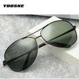 YOOSKE Brand Polarized Sunglasses Men Women Driving Sun Glasses Vintage Anti-UV400 Goggles Driver Eyewear