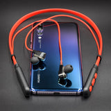 ALWUP G01 Bluetooth Earphone Wireless Headphones Four Unit Drive Double Dynamic Hybrid Deep Bass Earphone for Phone with mic 5.0