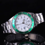 2017 SOUTHBERG  Luxury Fashion Mens Watches Quartz Steel  Top Brand Green Wrist Watch For Man relogio masculino