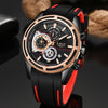2019New LIGE Silicone Strap Men Watches Fashion Top Brand luxury Business Luminous Quartz Watch Men Casual Waterproof Date Clock