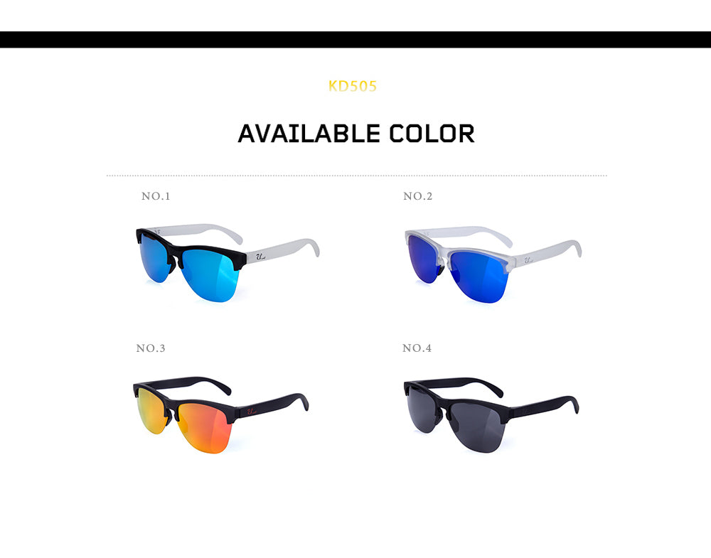 Holbrooker Fashion Sunglasses Polarized Lens  Men Women Sports Sun Glasses Trend Eyeglasses Male Driving Eyewear 9102