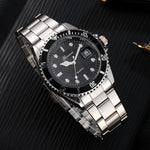 Mens Watches Top Brand Luxury GONEWA Men Fashion Military Stainless Steel Date Sport Quartz Analog Wrist Watch Hot Sales #10