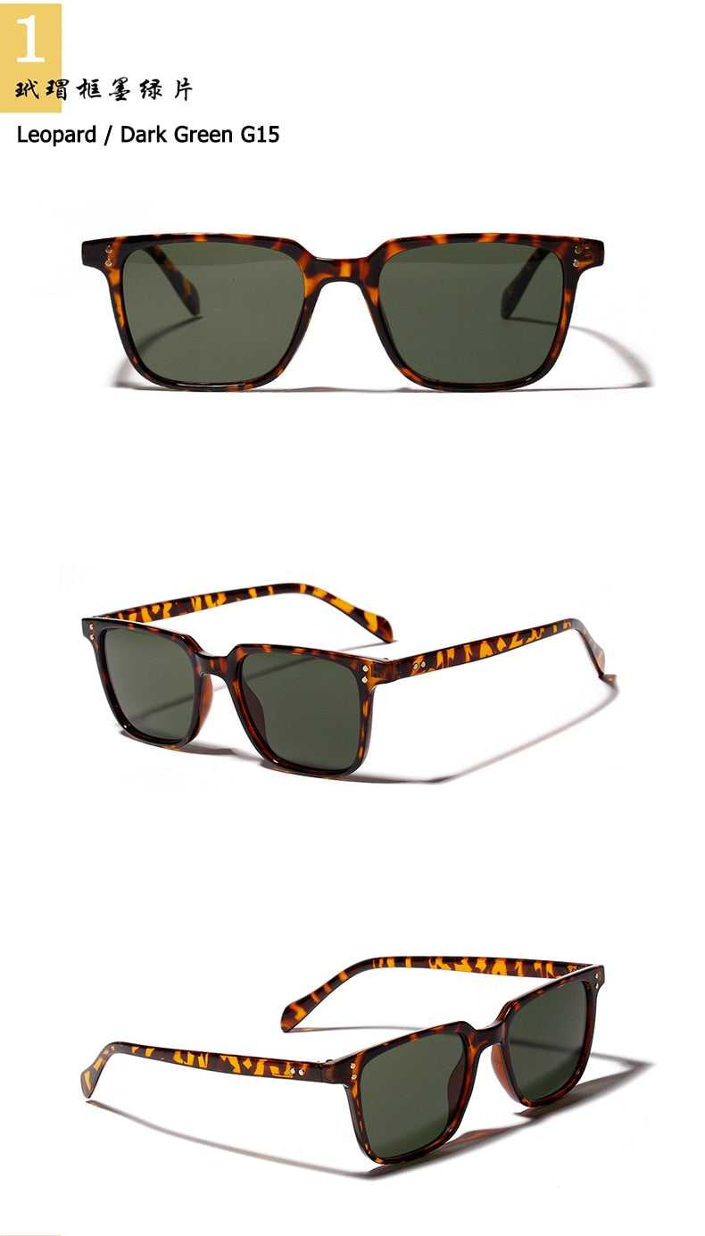 JackJad 2019 Fashion Cool NDG SUN Style Square Sunglasses Vintage Rivets Two Dots Brand Design Sun Glasses Oculos De Sol 18565