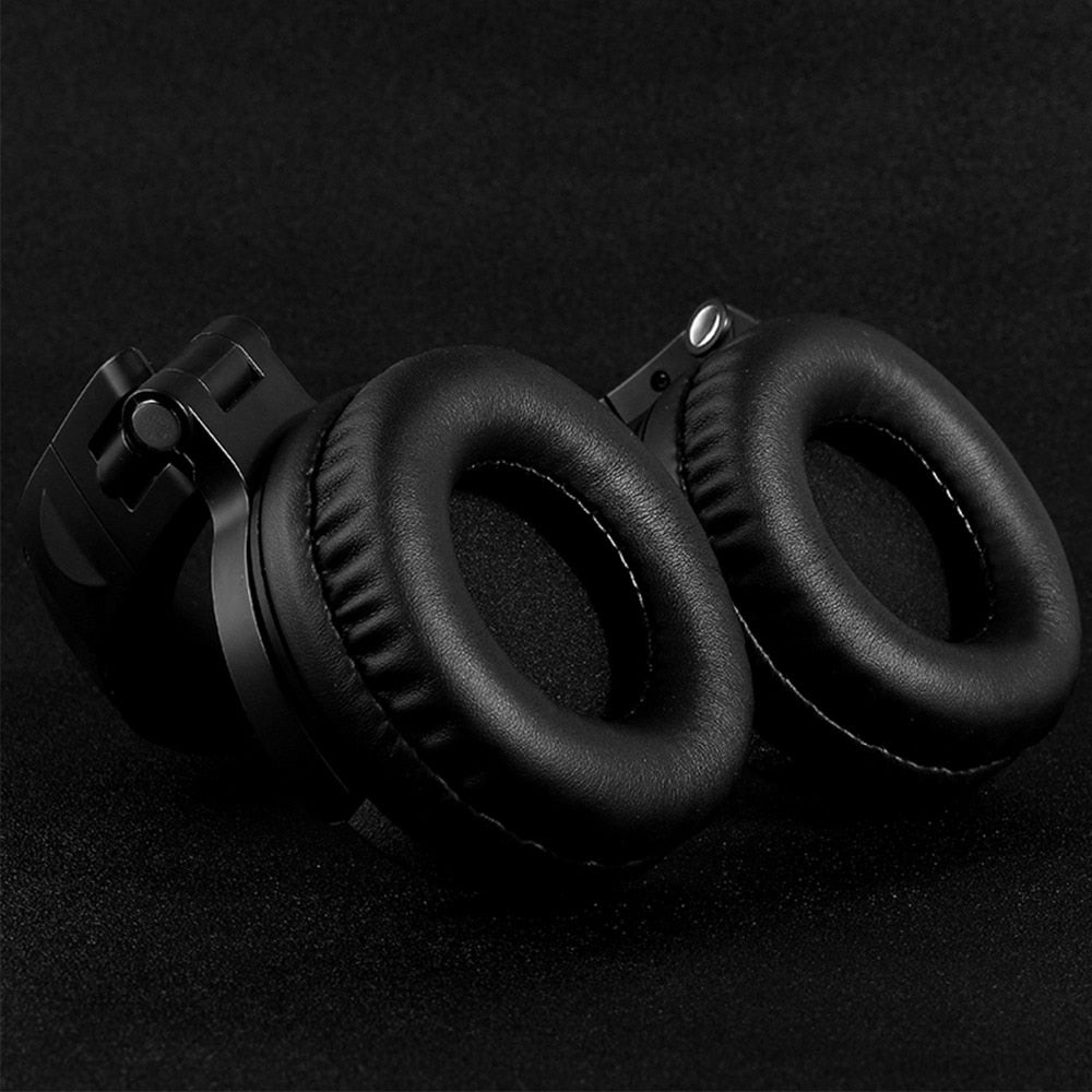 Oneodio Noise Cancelling Headphones V4.1 Bluetooth Headphones Wireless On-Ear Stereo Wireless+Wired Headset For Phones PC New
