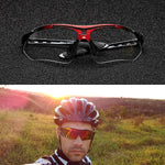 COMAXSUN Professional Polarized Cycling Glasses Bike Goggles Outdoor Sports Bicycle Sunglasses UV 400 With 5 Lens TR90  5 color