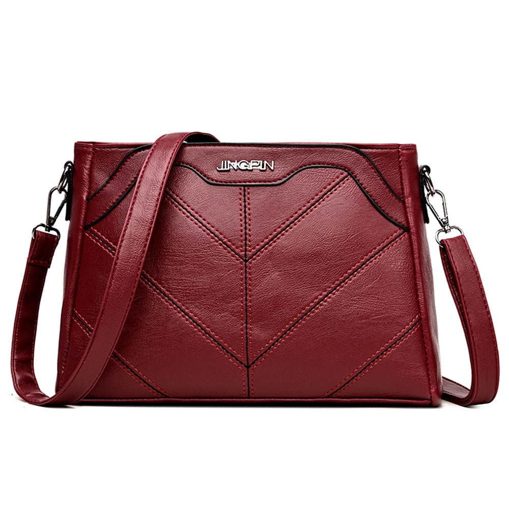 Aelicy Luxury Handbags Women Bags Designer Brand Female Crossbody Shoulder Bags For Women Leather Sac a Main Ladies Bag