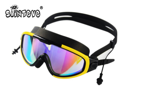 Professional Fashion best Swimming goggles Adult Waterproof soft silicone glasses swim Eyewear Anti-Fog UV goggles for man woman