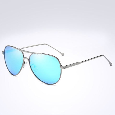 2019 Polarized Mirror Women Sunglasses 3 Colors Blue/Black/Orange Lens UV400 Metal Frame