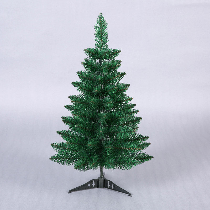 60cm Mini Artificial Green Pointy Christmas Tree Small Xmas Tree New Year Home Ornaments Desktop Decorations Christmas Tree