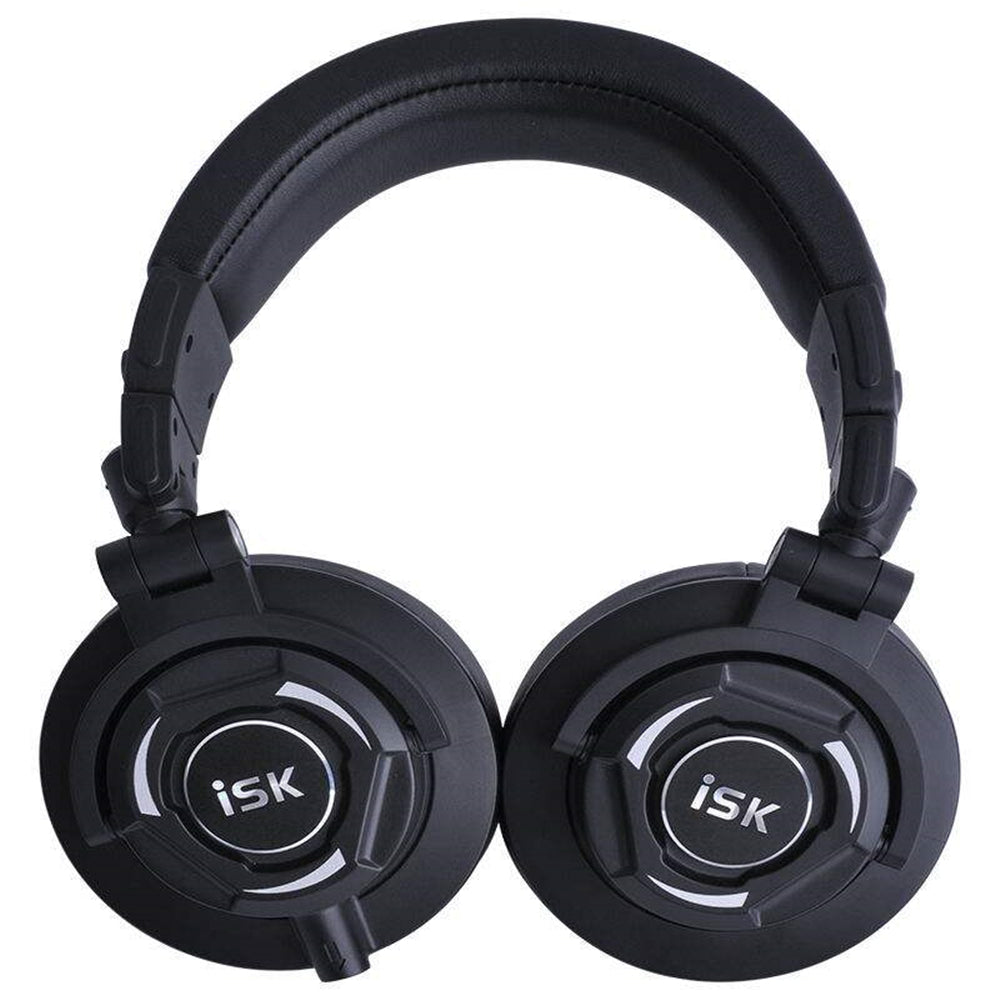 Professional Monitor Studio Headphones ISK MDH9000 Dynamic 1800mW Powerful DJ Over Ear Noise Cancelling HiFi Headset Auriculars