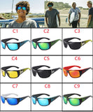 VIAHDA DESIGN Men Classic Polarized Sunglasses Male Sport Fishing Shades Eyewear UV400 Protection