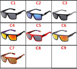 BRAND DESIGN Classic Square Sunglasses Men Women Vintage Male Sport Sunglasses Shades Eyewear UV400 Gafas