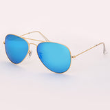 3025 sunglasses TAC polarized 58mm solid color glass lens for men woman mirror pilot sunglass glasses sol gafas UV400