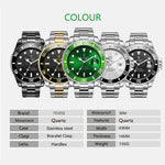 Hot 2019 New Tevise Men Quartz Watch Automatic Date Sport Watches Fashion Luxury Famous design Male Clock Relogio Masculino