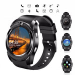 Smart Watch Bluetooth ZONKO Android IOS Phone with Touch Screen Passometer SIM Card Message Reminder