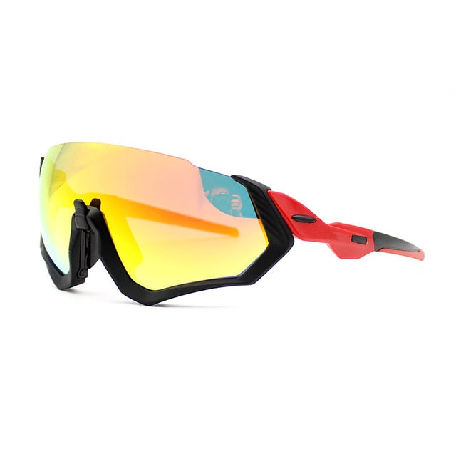 Polarized 3 Lens Outdoor Sport Cycling Glasses Mtb Racing Road Bike Eyewear 2019 Men's Bicycle Sunglasses Running Riding Goggles
