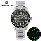San Martin 62MAS Diver Watch Stainless Steel Automatic Men Mechanical Watches 200M Waterproof Luminous 2019 Sport Relojes