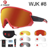 X-TIGER Wind Cycling Glasses Polarized Outdoor Sports Bicycle Glasses MTB Bike Sunglasses Goggles Mountain Bike Cycling Eyewear