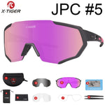 X-TIGER Polarized Cycling Glasses UV400 Cycling Sport SunGlasses Mountain Bike Goggles Racing Road MTB Bicycle Eyewear For Man