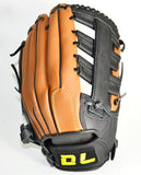 Baseball Gloves For Men Sports Sweat absorbing Two-layer Leather School Match Adult Youth 11.5''/12.5'' Baseball Glove Equipment