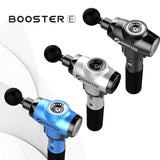 Booster E Massage Gun Deep Tissue Massager Therapy Body Muscle Stimulation Pain Relief for EMS Pain Relaxation Fitness Shaping