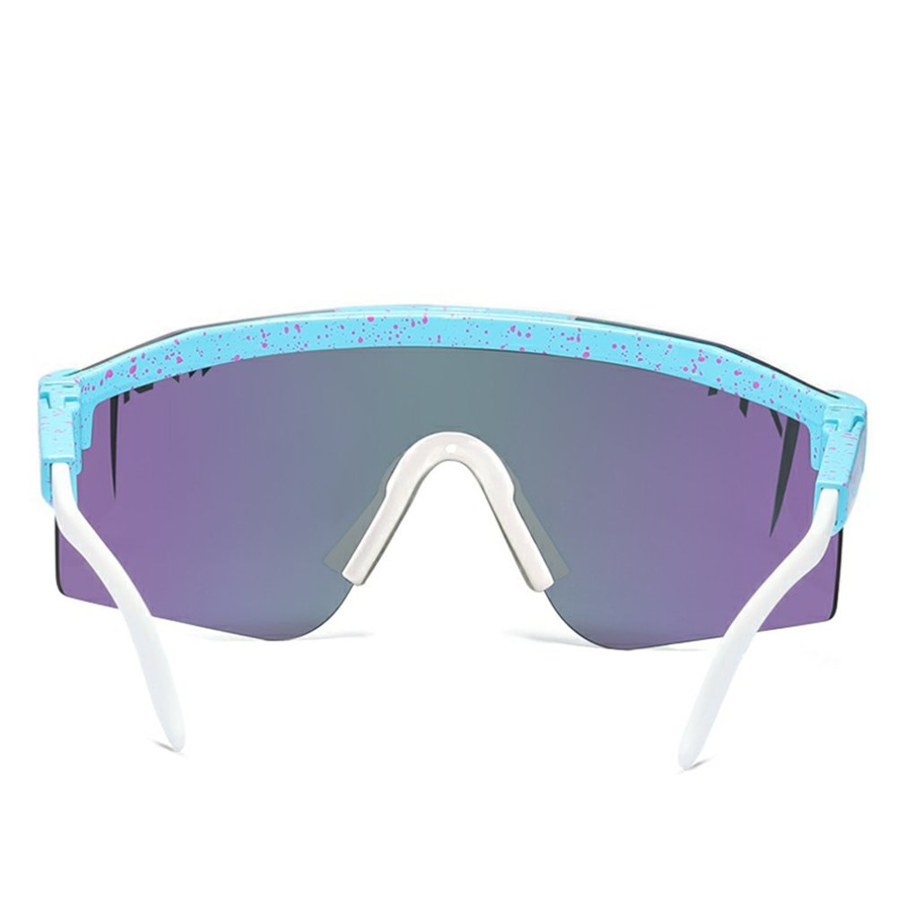 Original Pit Viper Sport google Polarized Sunglasses for men and women Outdoor windproof eyewear UV Mirrored lens