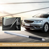 55CM Stainless Steel Multi-Functional Baseball Bat Car Emergency Stick With Small Portable Bag Vehicle Steel Baseball Bats